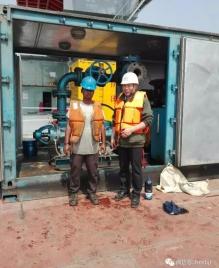 专利产品QBZ撬装式注水泵机组走出国门