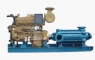 柴油机水泵的主要配置设备结构说明