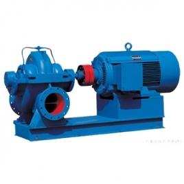 S型单级双吸离心泵的结构特点